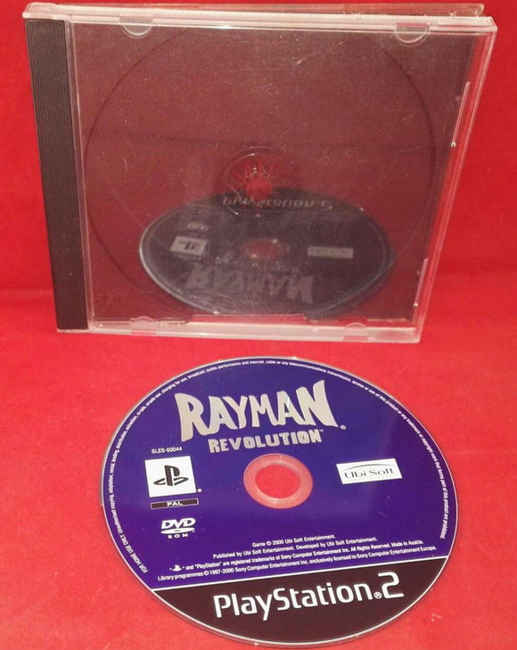 Rayman Revolution Sony Playstation 2 (PS2) Game Disc Only