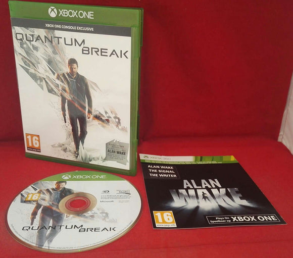 Quantum Break Microsoft Xbox One Game