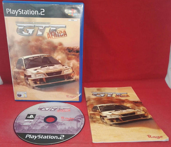 GTC Global Touring Challenge Africa Sony Playstation 2 (PS2) Game