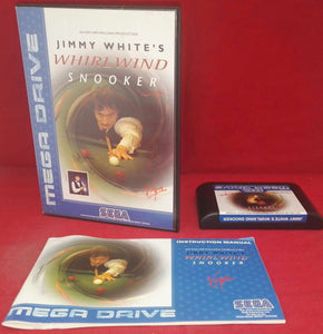 Jimmy White's Whirlwind Snooker Sega Mega Drive Game