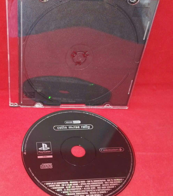 Colin McRae Rally Sony Playstation 1 (PS1) Demo Disc Only (Ultra Rare)