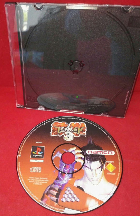 Tekken 3 Sony Playstation 1 (PS1) Game Disc Only