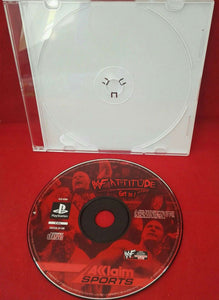 WWF Attitude Sony Playstation 1 (PS1) Game Disc Only