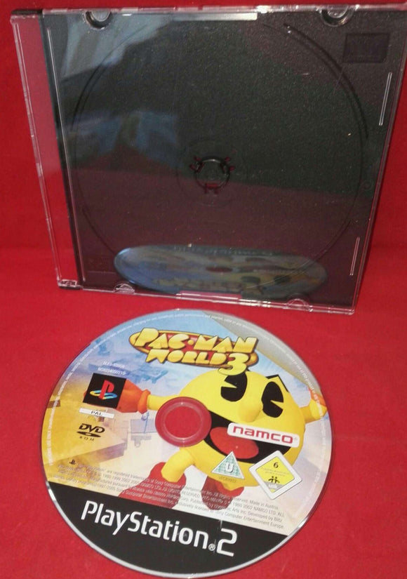 Pac-Man World 3 Sony Playstation 2 (PS2) Game Disc Only