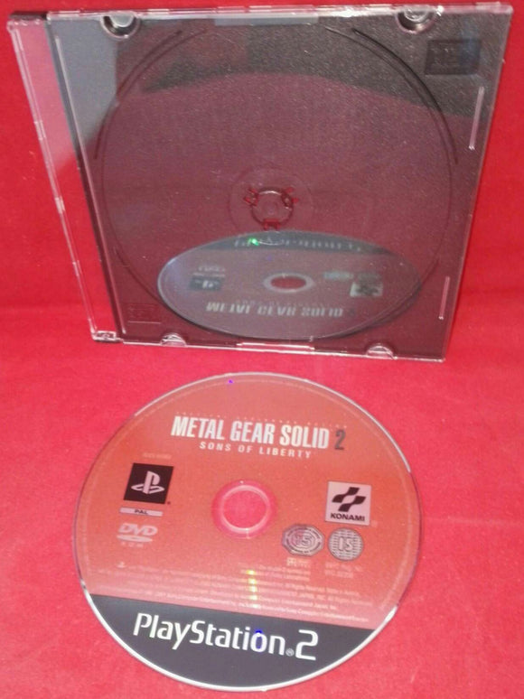 Metal Gear Solid 2 Sons of Liberty Sony Playstation 2 (PS2) Game Disc Only