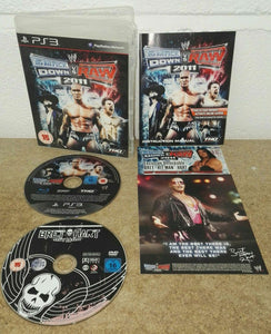 WWE Smackdown VS Raw 2011 with Bret Hart Hitman DVD Sony Playstation 3 (PS3) Game