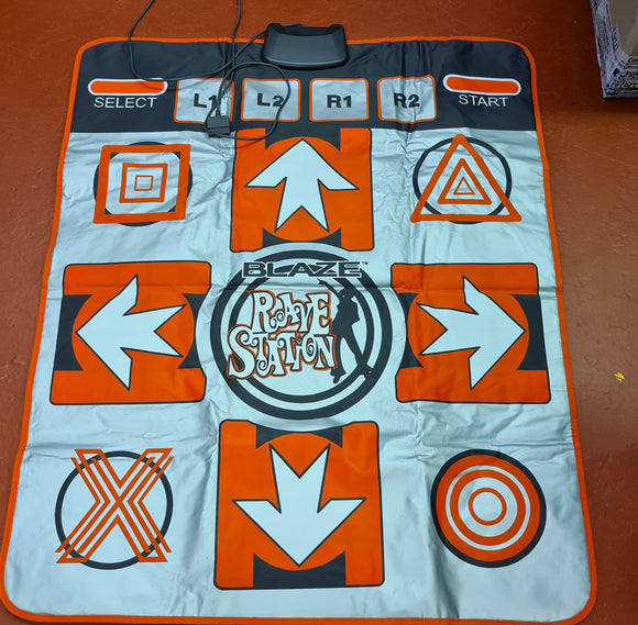 Blaze Rave Station Dance Mat Sony Playstation 2 (PS2) Accessory