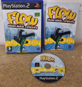 Flow Urban Dance Uprising Sony Playstation 2 (PS2) Game