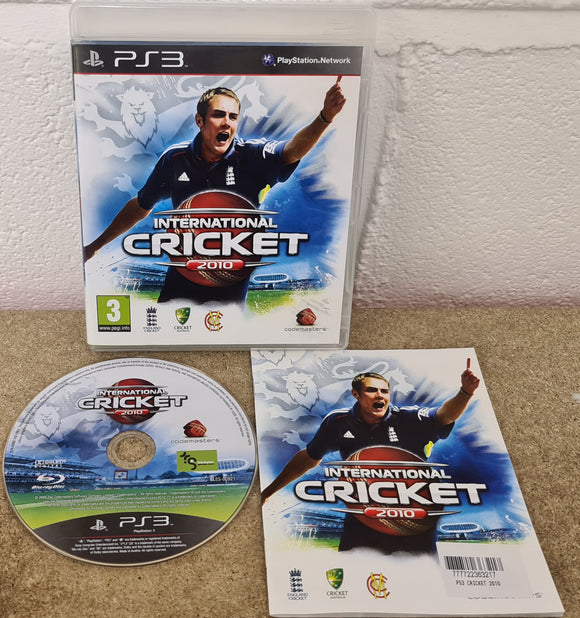 International Cricket 2010 Sony Playstation 3 (PS3) Game