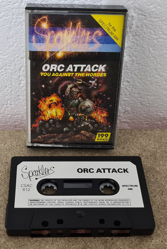 Orc Attack ZX Spectrum Game