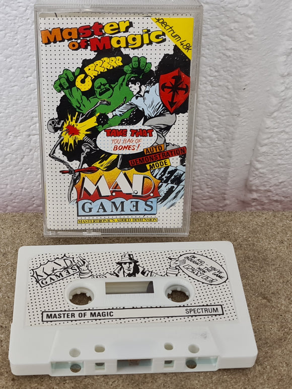 Master of Magic ZX Spectrum Game