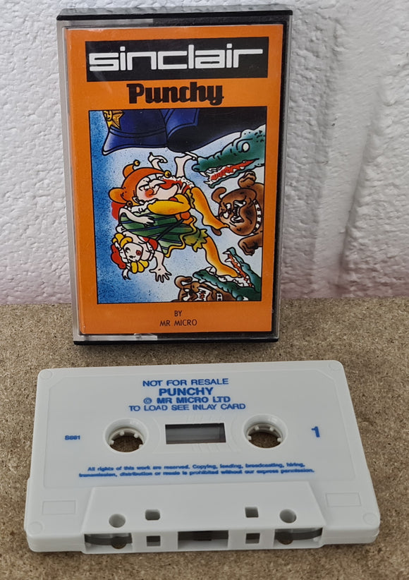 Punchy ZX Spectrum Game