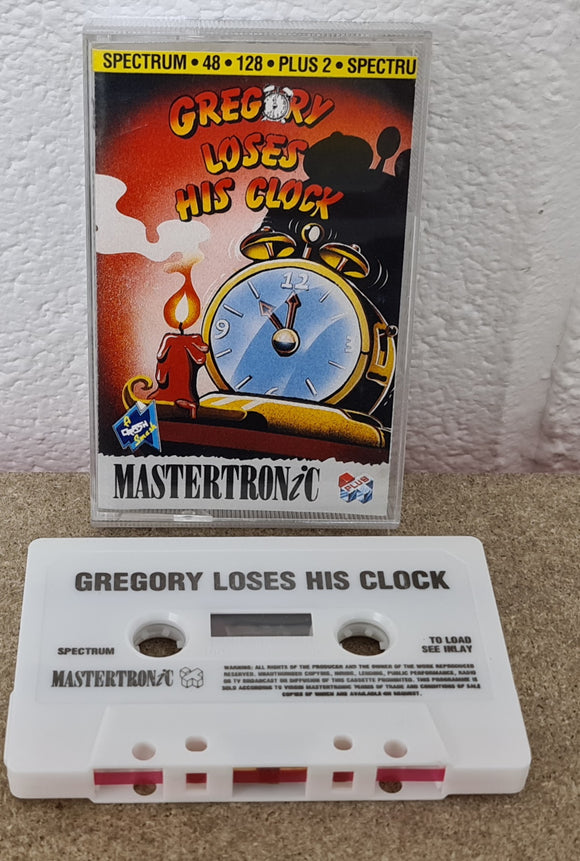 Gregory Loses his Clock ZX Spectrum Game
