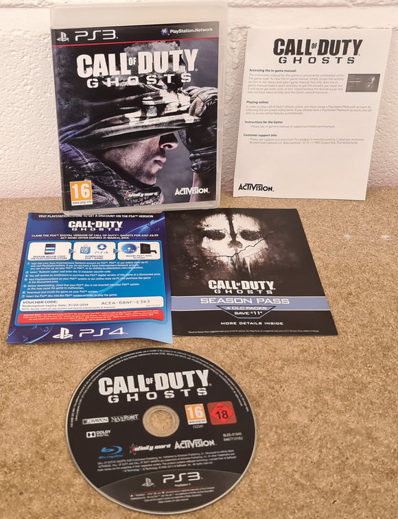 Call of Duty Ghosts Sony Playstation 3 (PS3) Game