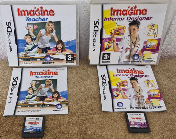Imagine Interior & Teacher Nintendo DS Game Bundle