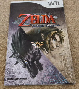The Legend of Zelda Twilight Princess Nintendo Wii Spare Manual Only