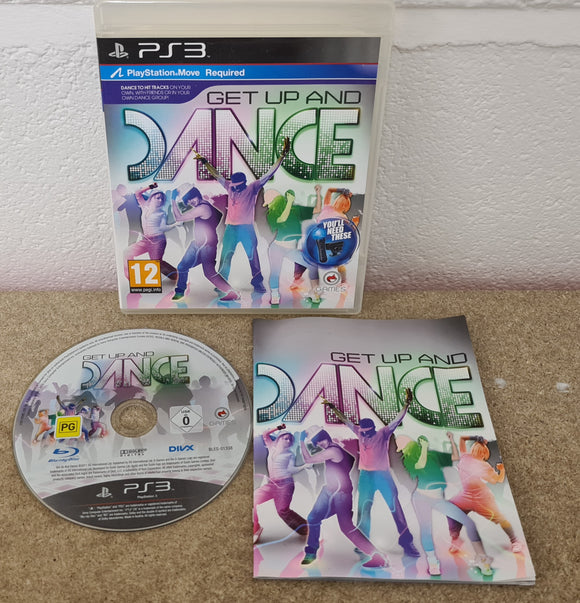Get up and Dance Sony Playstation 3 (PS3) Game