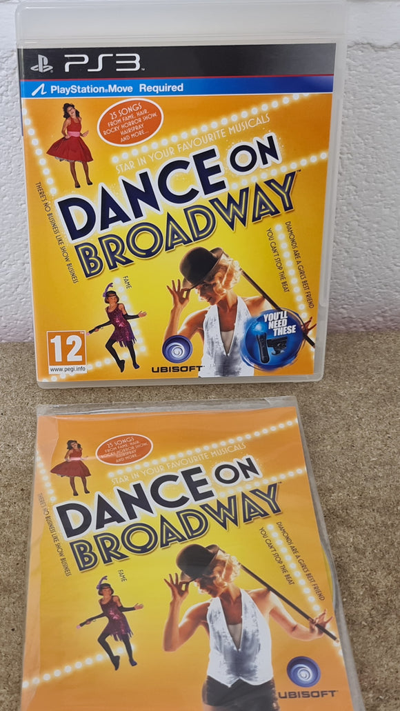 Brand New Dance on Broadway Sony Playstation 3 (PS3) Game