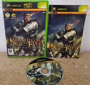 Kingdom Under Fire the Crusaders Microsoft Xbox Game