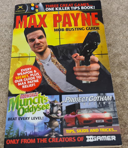 Xgamer Max Payne, Munch's Oddysee & Project Gotham RARE Hint & Cheat Book