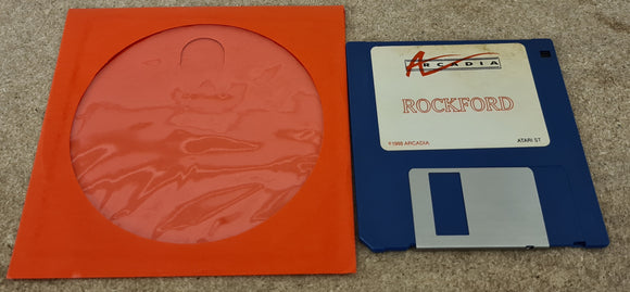 Rockford Atari ST Game Disc Only