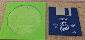 Puzznic Atari ST Game Disc Only