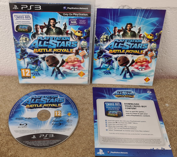 Playstation All-Stars Battle Royale Sony Playstation 3 (PS3) Game