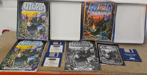 Utopia Creation of a Nation & New Worlds Atari ST Game Bundle