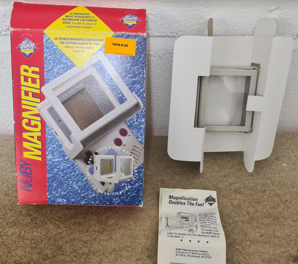 Boxed Nuby Magnifier Nintendo Game Boy RARE Accessory