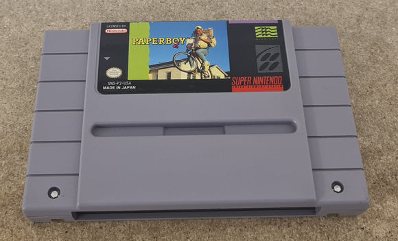 Paperboy 2 Super Nintendo Entertainment System (SNES) NTSC U/C Game Cartridge Only