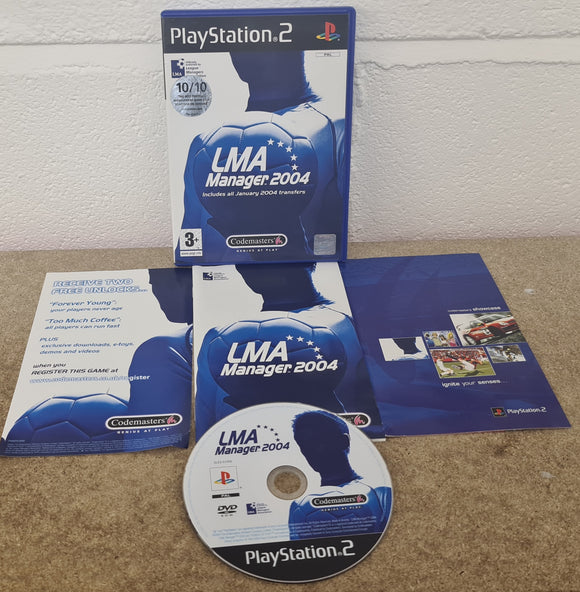 LMA 2004 Sony Playstation 2 (PS2) Game