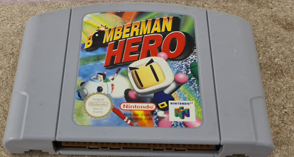 Bomberman Hero Nintendo 64 (N64) Game Cartridge Only