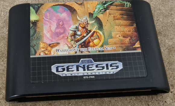 Dungeons & Dragons Warriors of the Eternal Sun Sega Genesis/Mega Drive Game Cartridge Only