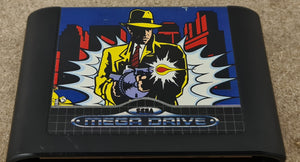 Dick Tracy Sega Mega Drive Game Cartridge Only