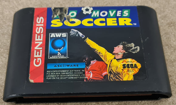 Pro Moves Soccer Sega Genesis/ Mega Drive RARE Game Cartridge Only