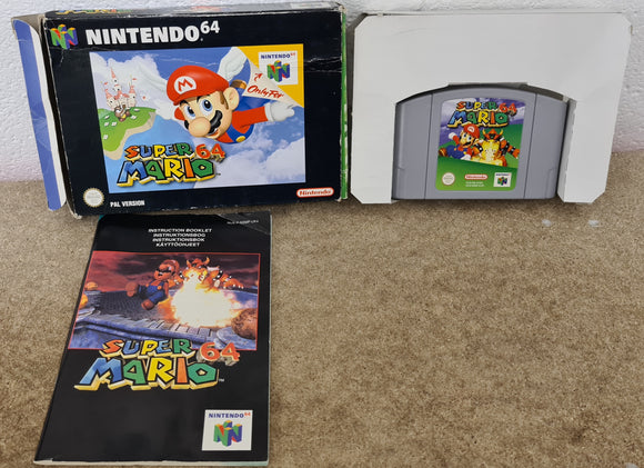 Super Mario 64 Nintendo 64 (N64) Game