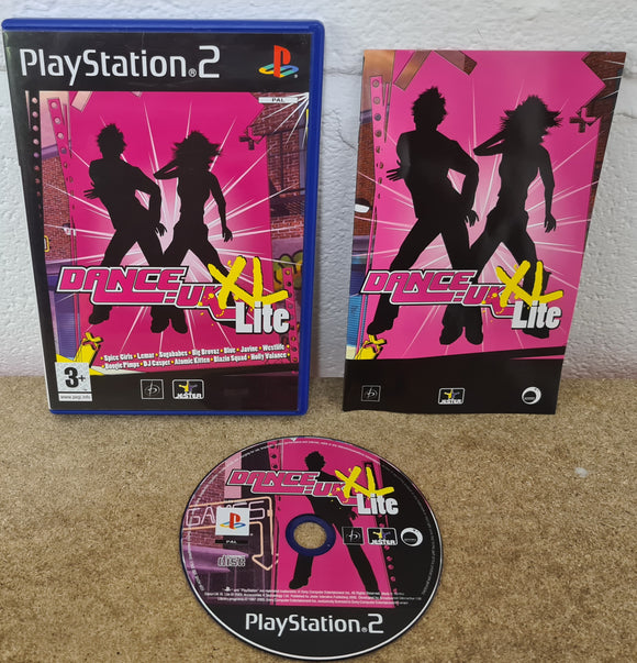 Dance UK XL Lite Sony Playstation 2 (PS2) Game