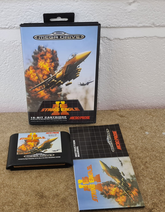 F-15 Strike Eagle II Sega Mega Drive RARE Game
