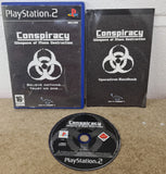 Conspiracy Weapons of Mass Destruction Sony Playstation 2 (PS2) Game