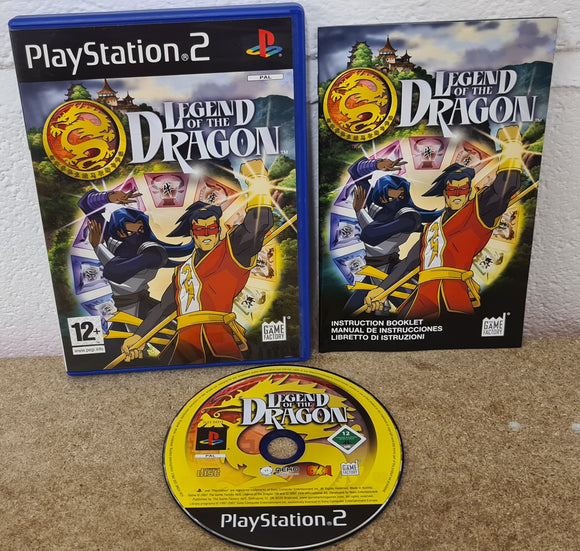 Legend of the Dragon Sony Playstation 2 (PS2) Game