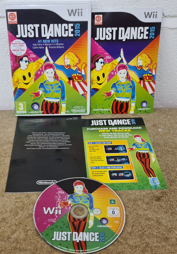 Just Dance 2015 Nintendo Wii Game