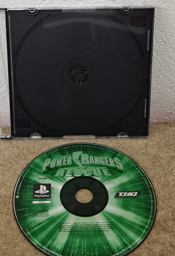 Power Rangers Lightspeed Rescue Sony Playstation 1 (PS1) Game Disc Only