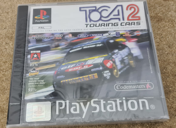 Brand New and Sealed Toca Touring Cars 2 Sony Playstation 1 (PS1) Game