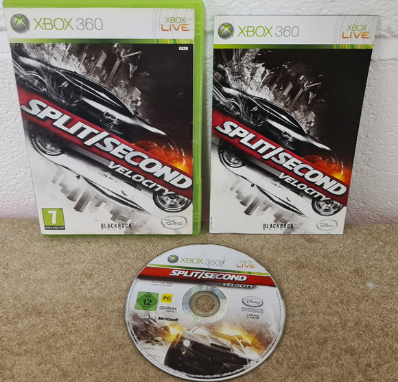 Split/Second Velocity Microsoft Xbox 360 Game