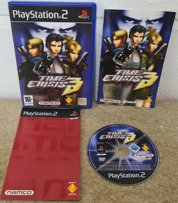 Time Crisis 3 Sony Playstation 2 (PS2) Game