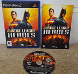 Justice League Heroes Sony Playstation 2 (PS2) Game