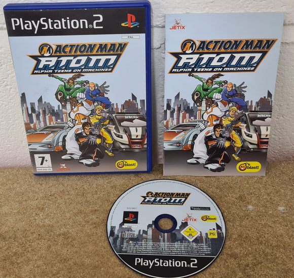 Action Man A.T.O.M Alpha Teens on Machines Sony Playstation 2 (PS2) Game