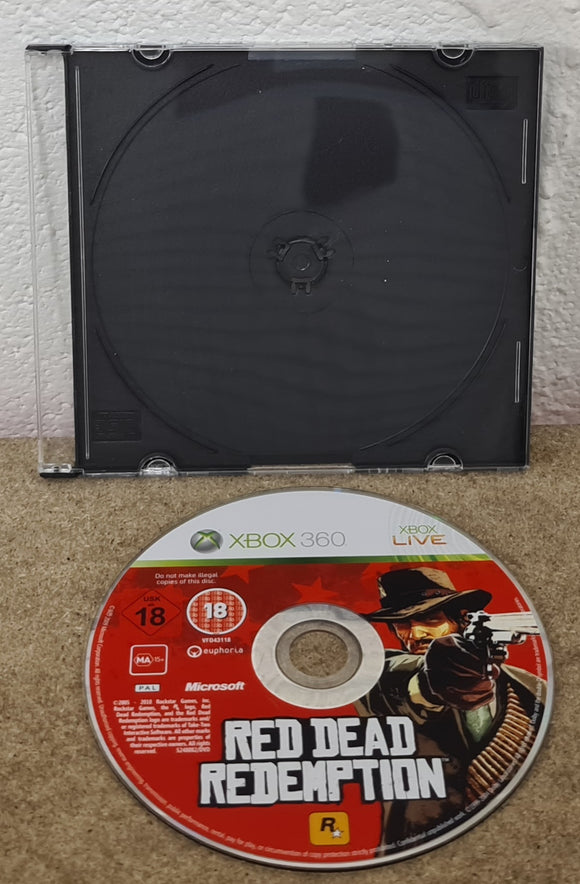 Red Dead Redemption Microsoft Xbox Game Disc Only