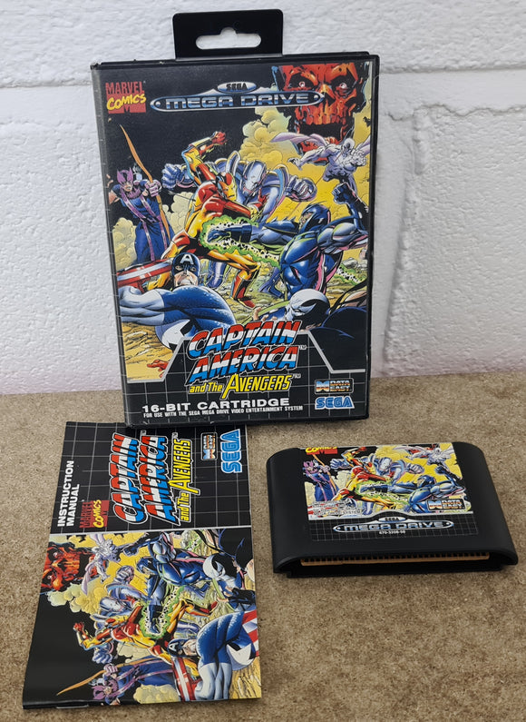 Captain America and the Avengers Sega Mega Drive Game