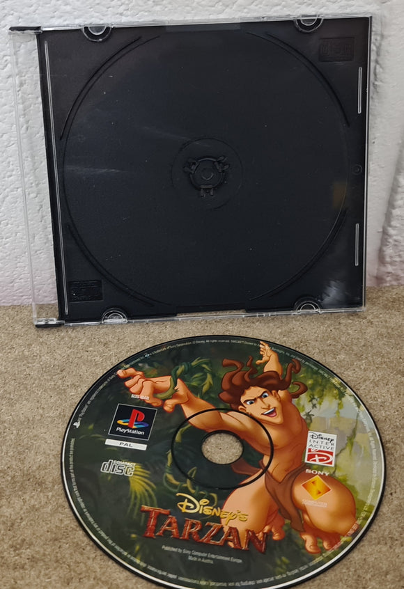 Disney's Tarzan Sony Playstation 1 (PS1) Game Disc Only